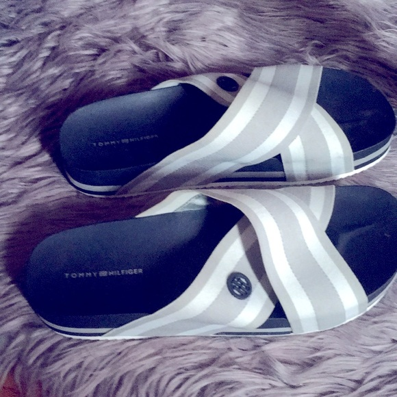 Tommy Hilfiger sandals with logo TH on both sides